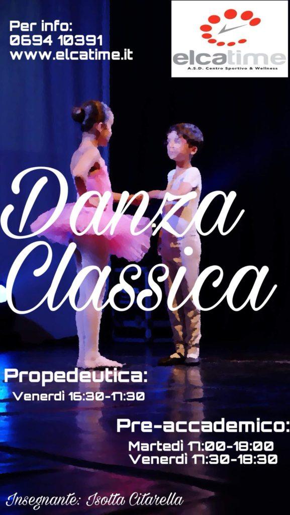 Danza propedeutica e preaccademica